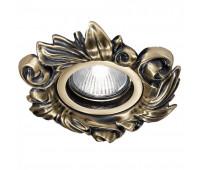 Точечный светильник Possoni DL7807 (008)    Античная бронза (пр-во Италия)