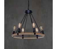 Подвесной светильник Loft IT LOFT1861/6  Состаренный коричневый (пр-во Испания)