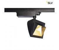 3Ph, MERADO FLOOD светильник 40Вт с LED 4000K, 3000лм, 115°, черный SLV 1001475  (пр-во Германия)