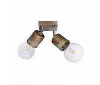 Настенно-потолочный светильник  Moretti Luce 3075.AR  Состаренная омедненная латунь (пр-во Италия)