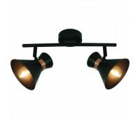 Спот  Arte Lamp A1406AP-2BK BALTIMORE  Черный, золото (пр-во Италия)