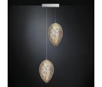 Подвесной светильник  VG New Trend 7511520.98  Прозрачный, хром (пр-во Италия)