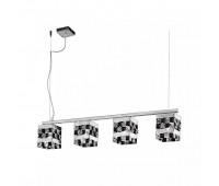 Подвесной светильник IDL 399/4SL Chrome-Black  Хром (пр-во Италия)