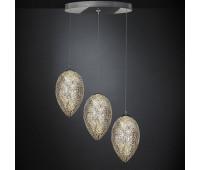 Подвесной светильник  VG New Trend 7511521.98  Прозрачный, хром (пр-во Италия)
