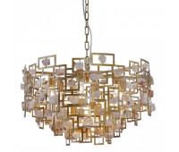 Подвесной светильник Crystal Lux DIEGO SP9 D600 GOLD  Состаренное золото (пр-во Испания)