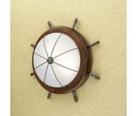 Потолочный светильник Lustrarte 606/47-0625  Зеленый антик, коричневый (пр-во Португалия)