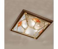 Потолочный светильник Cremasco 1029/4PL-LN.NO.OL.sm.am  Орех (пр-во Италия)