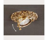 Точечный светильник Reccagni Angelo SPOT 1085 Oro  Французское золото (пр-во Италия)