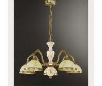 Люстра Reccagni Angelo L 6908/5  Французское золото (пр-во Италия)