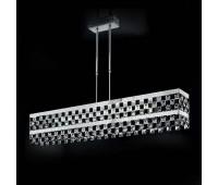 Подвесной светильник IDL 399/3S Chrome-Black  Хром (пр-во Италия)