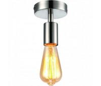 Потолочный светильник  Arte Lamp A9184PL-1SS FUORI  Матовое серебро (пр-во Италия)