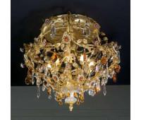 Потолочная люстра  Gallo M 448/9  Золото (пр-во Италия)