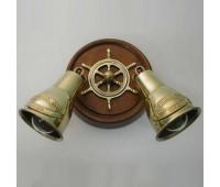 Настенно-потолочный светильник Favel KF/5001/PL2  Бронза (пр-во Италия)