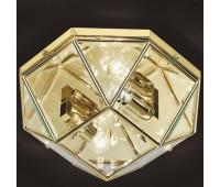Потолочная люстра  Cremasco 968/2PL-OL.cm  Золото (пр-во Италия)