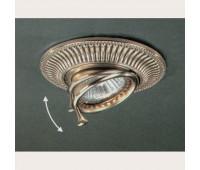 Точечный светильник Reccagni Angelo SPOT 1082 Bronzo  Бронза (пр-во Италия)