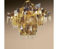 Подвесной светильник MM Lampadari 6580/28  Сусальное золото (пр-во Италия)