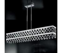 Подвесной светильник IDL 399/85N Chrome-Black  Хром (пр-во Италия)