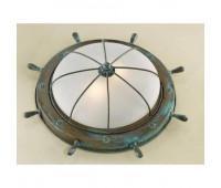 Потолочный светильник  Lustrarte 689/38-0625  Зеленый антик (пр-во Португалия)
