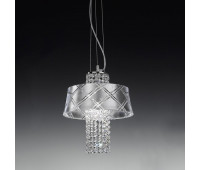 Подвесной светильник Metal Lux 195.130.62  Хром (пр-во Италия)