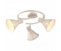 Cпот Arte Lamp A5218PL-3WG  Бело-золотой (пр-во Италия)