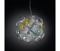Подвесной светильник IDL 366/12S Multicolour  Хром (пр-во Италия)
