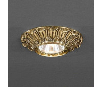Точечный светильник Reccagni Angelo SPOT 1077 Oro  Французское золото (пр-во Италия)