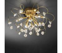 Потолочный светильник Kolarz 1307.112.3.R1W  Золотой (пр-во Австрия)