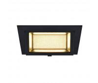 ALAMEA LED 36W светильник встраиваемый 1000мА с LED 36Вт, 3000К, 3600лм, черный SLV 1000788  (пр-во Германия)