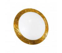 Светильник настенно-потолочный Kolarz 0331.U13.3  Золотой, золотистый с узором (пр-во Австрия)