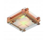 Настенно-потолочный светильник  Omnilux OML-40517-02  Натуральное дерево (пр-во Китай)