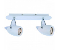 Cпот   Arte Lamp A4004AP-2WH ATLANTIS  Белый (пр-во Италия)