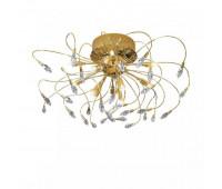 Потолочный светильник Kolarz 1307.112.3  Золотой, прозрачный (пр-во Австрия)