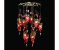 Подвесной светильник  Fine Art Lamps 718540-4ST  Сатинированная бронза (пр-во США)