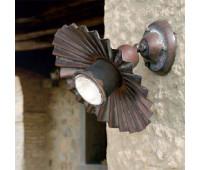 Настенно-потолочный светильник Aldo Bernardi Civetta 41.11.400/PAR20  Состаренная латунь (пр-во Италия)