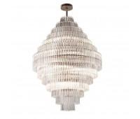 Потолочный светильник Luxury IL Paralume Marina Chandeliers 2214  Полированная латунь (пр-во Италия)