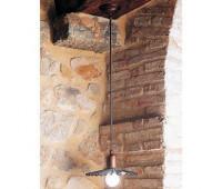 Подвесной светильник Aldo Bernardi 11.108/P26  Состаренная медь (пр-во Италия)