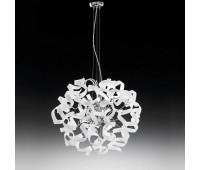 Подвесной светильник Metal Lux 206.150.02  Хром,белый (пр-во Италия)