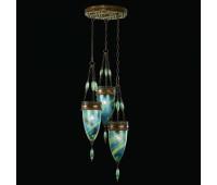 Подвесной светильник  Fine Art Lamps 608640-3ST  Состаренная бронза (пр-во США)
