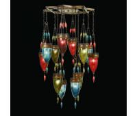 Подвесной светильник  Fine Art Lamps 718540-7ST  Сатинированная бронза (пр-во США)