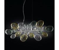 Подвесной светильник IDL 372/8S Multicolour  Хром (пр-во Италия)