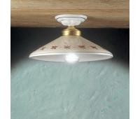 Потолочный светильник Ferroluce C057 PL  Белый, золото (пр-во Италия)
