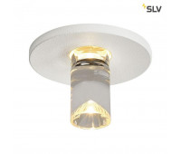 LIGHTPOINТ светильник встраиваемый 350мА 1Вт c LED 3000К, 100лм, белый (ex 118021) SLV 1001156  (пр-во Германия)