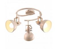 Cпот Arte Lamp A5215PL-3WG  Бело-золотой (пр-во Италия)