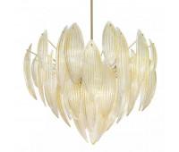 Подвесной светильник IDL 430/120 Foglia oro    Светлое золото (пр-во Италия)
