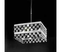 Подвесной светильник IDL 399/4SQ Chrome-Black  Хром (пр-во Италия)