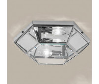 Потолочная люстра  Cremasco 980/2PL-MD-CR.cm  Хром (пр-во Италия)