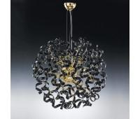 Подвесной светильник Metal Lux 205.180.03  Золото,черный (пр-во Италия)