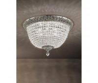 Потолочная люстра  Arizzi 2045/10/PL  Сусальное серебро (пр-во Италия)