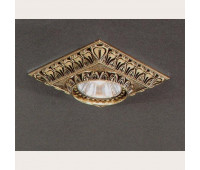 Точечный светильник Reccagni Angelo SPOT 1083 Oro  Французское золото (пр-во Италия)