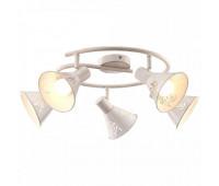 Cпот Arte Lamp A5218PL-5WG  Бело-золотой (пр-во Италия)